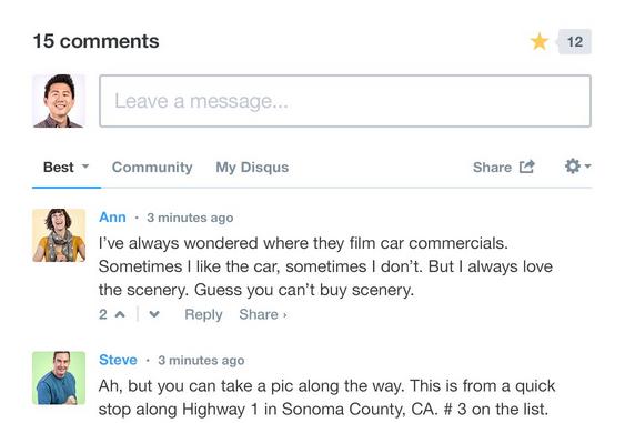 Disqus WordPress Comment System