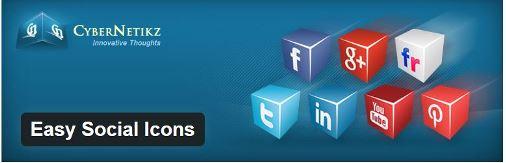 Easy Social Icons