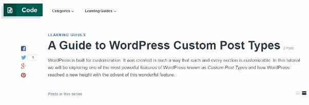 A guide to WordPress custom post types