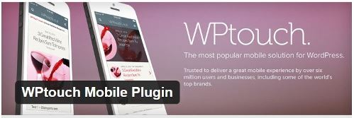 WPtouch Mobile WordPress Plugin