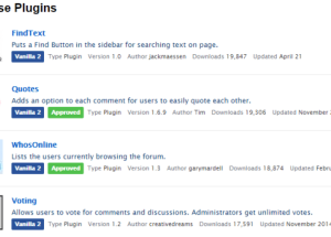 The Best Free Vanilla Forums Themes and Plugins